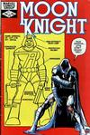 Cover for Moon Knight (Marvel, 1980 series) #19