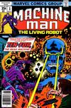 Cover for Machine Man (Marvel, 1978 series) #3