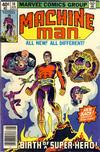 Cover for Machine Man (Marvel, 1978 series) #10 [Newsstand]