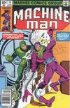 Cover for Machine Man (Marvel, 1978 series) #14 [Newsstand]