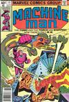 Cover for Machine Man (Marvel, 1978 series) #15 [Newsstand Edition]