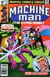 Cover for Machine Man (Marvel, 1978 series) #16 [Newsstand Edition]
