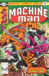 Cover for Machine Man (Marvel, 1978 series) #18 [Direct]