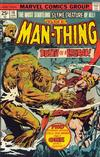 Cover for Man-Thing (Marvel, 1974 series) #16 [Regular]