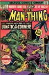 Cover for Man-Thing (Marvel, 1974 series) #21 [Regular]