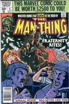 Cover for Man-Thing (Marvel, 1979 series) #6 [Newsstand]