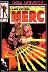 Cover for Mark Hazzard: Merc (Marvel, 1986 series) #1 [Direct]