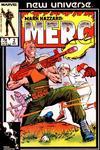 Cover for Mark Hazzard: Merc (Marvel, 1986 series) #2 [Direct]