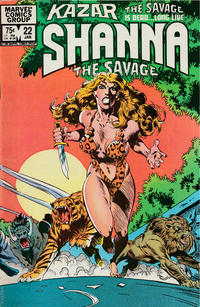 Cover Thumbnail for Ka-Zar the Savage (Marvel, 1981 series) #22