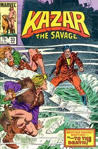 Cover Thumbnail for Ka-Zar the Savage (Marvel, 1981 series) #33