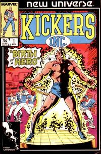 Cover Thumbnail for Kickers, Inc. (Marvel, 1986 series) #1 [Direct]