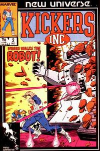 Cover Thumbnail for Kickers, Inc. (Marvel, 1986 series) #2 [Direct]