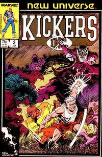 Cover Thumbnail for Kickers, Inc. (Marvel, 1986 series) #3 [Direct]