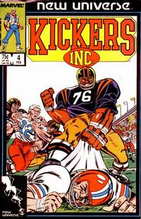 Cover Thumbnail for Kickers, Inc. (Marvel, 1986 series) #4 [Direct]