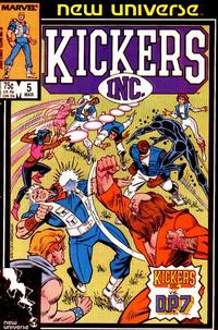 Cover Thumbnail for Kickers, Inc. (Marvel, 1986 series) #5 [Direct Edition]