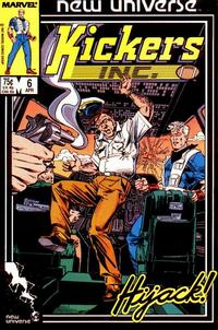 Cover Thumbnail for Kickers, Inc. (Marvel, 1986 series) #6 [Direct]