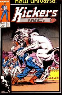 Cover Thumbnail for Kickers, Inc. (Marvel, 1986 series) #7 [Direct]