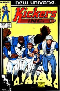 Cover Thumbnail for Kickers, Inc. (Marvel, 1986 series) #9 [Direct]