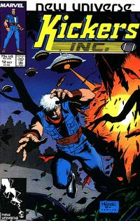 Cover Thumbnail for Kickers, Inc. (Marvel, 1986 series) #12 [Direct]