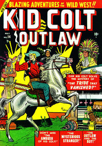 Cover Thumbnail for Kid Colt Outlaw (Marvel, 1949 series) #14