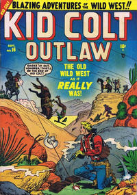 Cover Thumbnail for Kid Colt Outlaw (Marvel, 1949 series) #16