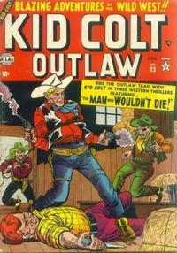 Cover Thumbnail for Kid Colt Outlaw (Marvel, 1949 series) #23