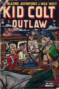 Cover Thumbnail for Kid Colt Outlaw (Marvel, 1949 series) #37