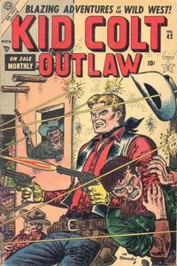 Cover Thumbnail for Kid Colt Outlaw (Marvel, 1949 series) #42