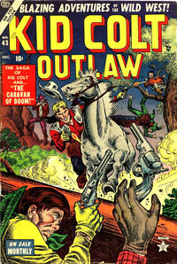 Cover Thumbnail for Kid Colt Outlaw (Marvel, 1949 series) #43