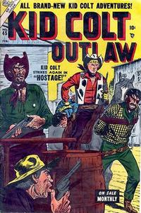 Cover Thumbnail for Kid Colt Outlaw (Marvel, 1949 series) #45