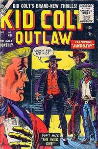 Cover Thumbnail for Kid Colt Outlaw (Marvel, 1949 series) #48