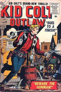 Cover Thumbnail for Kid Colt Outlaw (Marvel, 1949 series) #62