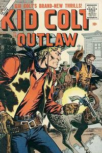 Cover Thumbnail for Kid Colt Outlaw (Marvel, 1949 series) #70
