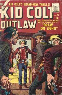 Cover Thumbnail for Kid Colt Outlaw (Marvel, 1949 series) #72