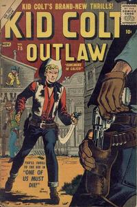 Cover Thumbnail for Kid Colt Outlaw (Marvel, 1949 series) #75
