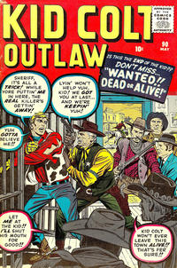 Cover Thumbnail for Kid Colt Outlaw (Marvel, 1949 series) #90