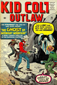 Cover Thumbnail for Kid Colt Outlaw (Marvel, 1949 series) #93