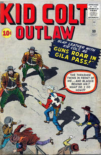 Cover Thumbnail for Kid Colt Outlaw (Marvel, 1949 series) #99