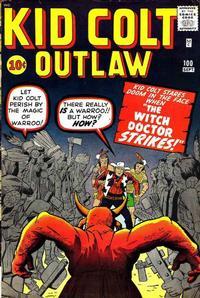 Cover for Kid Colt Outlaw (Marvel, 1949 series) #100