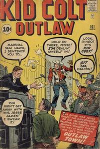 Cover Thumbnail for Kid Colt Outlaw (Marvel, 1949 series) #101