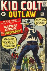 Cover Thumbnail for Kid Colt Outlaw (Marvel, 1949 series) #105