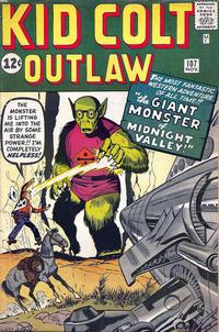 Cover for Kid Colt Outlaw (Marvel, 1949 series) #107