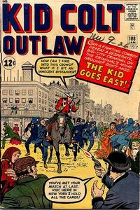 Cover Thumbnail for Kid Colt Outlaw (Marvel, 1949 series) #108