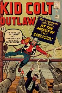 Cover Thumbnail for Kid Colt Outlaw (Marvel, 1949 series) #109