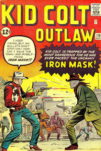Cover Thumbnail for Kid Colt Outlaw (Marvel, 1949 series) #110