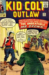 Cover Thumbnail for Kid Colt Outlaw (Marvel, 1949 series) #112