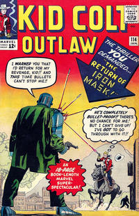 Cover Thumbnail for Kid Colt Outlaw (Marvel, 1949 series) #114