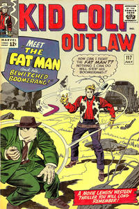 Cover Thumbnail for Kid Colt Outlaw (Marvel, 1949 series) #117