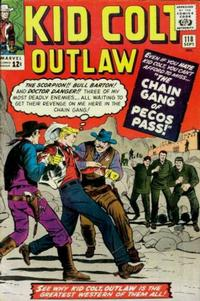 Cover Thumbnail for Kid Colt Outlaw (Marvel, 1949 series) #118