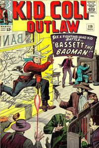 Cover Thumbnail for Kid Colt Outlaw (Marvel, 1949 series) #119